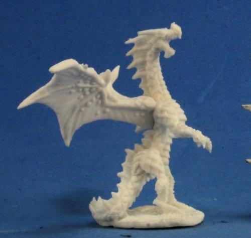 Bones Dragon Hatchling Red Miniature Reaper ()