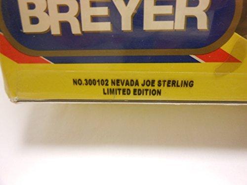 BREYER #300102 NEVADA JOE STERLING LIMITED EDITION