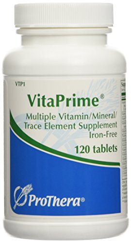 ProThera VitaPrime Iron-Free 120 tabs (Magnesium Citrate Usp)
