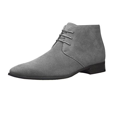 ClassyDude , Herren Stiefel Grey 3