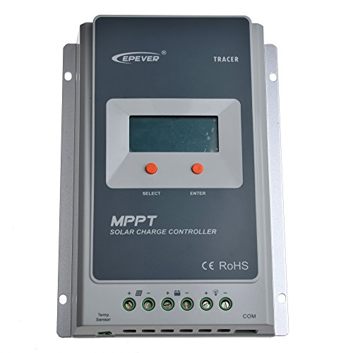 SolarEpic 40A MPPT Solar Charge Controller 100V input Tracer A Series 4210A With Display by EPever