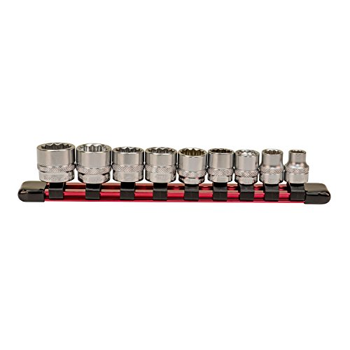 Low Profile Set - 9 Piece Low Profile Socket Set - Metric
