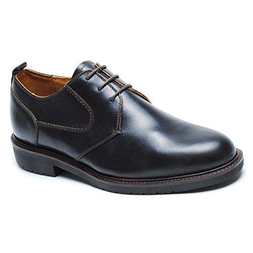 Neil M Men's Pinehurst Derby,Black Leather,US 10 D (Pinehurst Leather)