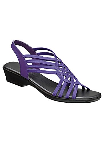 - AngelSteps Women's Adult Piper 10 Wide US Women/Purple
