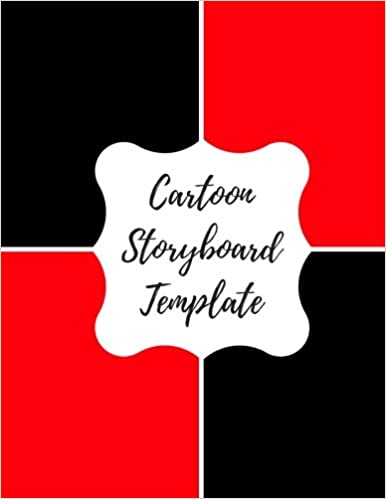 cartoon storyboard template blank empty cartoon strips 8 5 x 11 in