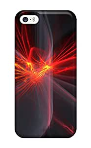 Hot Snap-on Fractal Hard Cover Case/ Protective Case For Iphone 5/5s