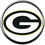 Fashion Snap Jewelry NFL Logo Green Bay Packers Snap Charm