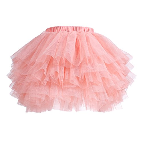 Baby Girls' Tutu Skirt Toddler 6 Layered Tulle Tutus 1-8T -