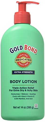 Gold Bond Med Lot Xs Size 14z Gold Bond Extra Strength Medicated Body Lotion for Extra Dry & Itchy Skin (Pack of 2)