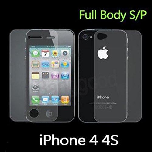 Pellicola Proteggi Schermo iPhone 4/4S deebix