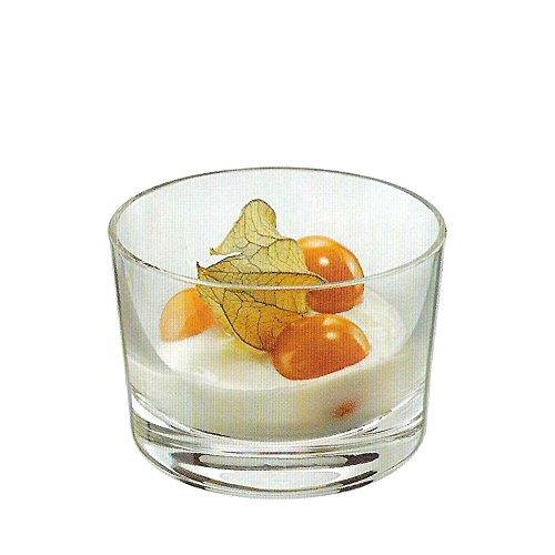 Rona Bodega Appetizer and Dessert Glass 3 ¾ oz. | Set of 6