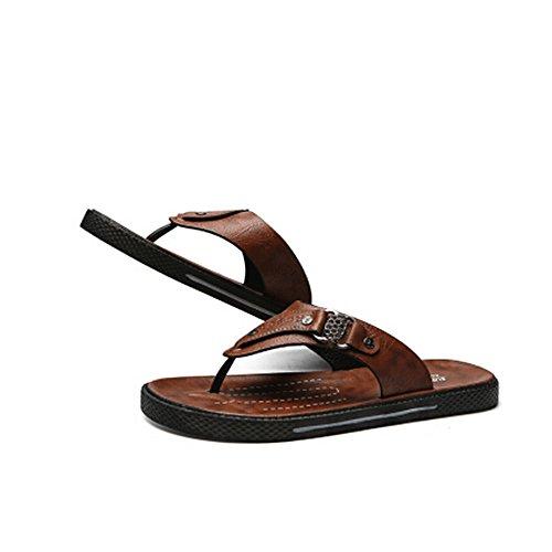 Cherlvy da estive 27 antiscivolo impermeabili Scarpe uomo spiaggia 25 Colore cm Sandali e Dimensione Marrone da Marrone 42 da uomo AwOIqArf