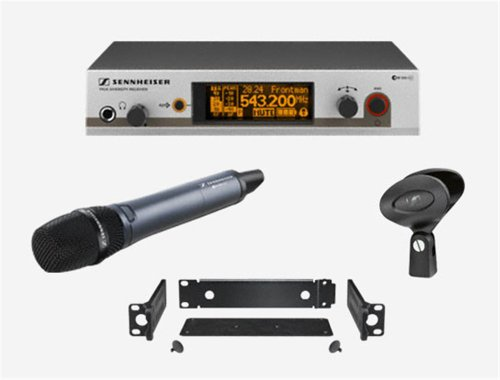 Sennheiser EW345G3 Handheld Wireless Sys W/Rackmnt UHF Handheld Wireless Mic System by Sennheiser
