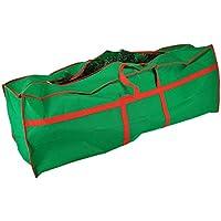 Tannenbaumhülle Weihnachtsbaumhülle grün 210 cm Tannenbaumtasche Weihnachtsbaumtasche Aufbewahrung Weihnachtsbaum Transporthülle Weihnachtsbäume Tannenbaum Aufbewahrung Tasche