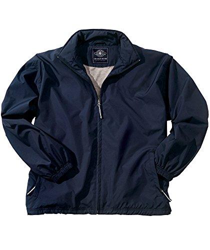 (Charles River Apparel Men's Triumph Jacket, Navy, 5X-Large)