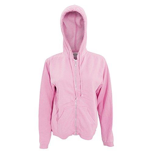s/Ladies Full Zip Hoodie Jacket (XL) (Blossom) (Ladie Full Zip Hoody)