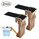 niceeshop(TM) 2 Plank Mouse Trap - Humane Bucket Rat Traps - Walk The Plank Mouse Trap Auto Reset - No Drilling Required - Kill or Live Catch Mice & Other Pests & Rodents