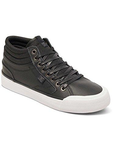 DC Shoes, Evan Hi, Zapatillas Altas, Mujer Black/Black/White