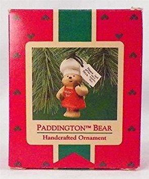 Paddington Bear Hallmark Ornament Christmas 1987 Vintage Qx4727 Ob