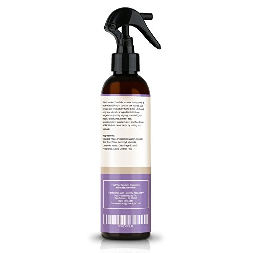 TreeActiv Natural Linen Spray | Kills Acne Causing Bacteria | Eliminates Odors | Fabric, Bedding, Clothing, Carpet & Furniture Refresher | (8 fl oz) (Lavender) by TreeActiv (Image #7)