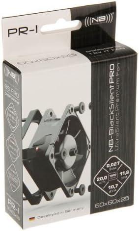Noiseblocker Blacksilent Pro Fan Pr 1 60mm Computer Zubehör