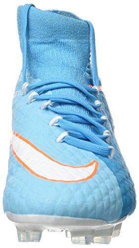 Blue tart Mujer White chlorine NIKE de fútbol Polarized Botas 3 para Blue Phatal Hypervenom Azul qwqp0AO6