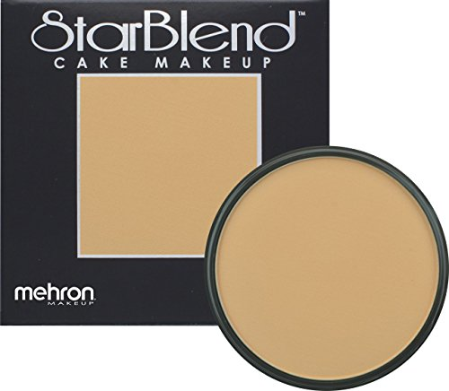 Mehron Makeup StarBlend Cake (2oz) (NEUTRAL BUFF) by Mehron