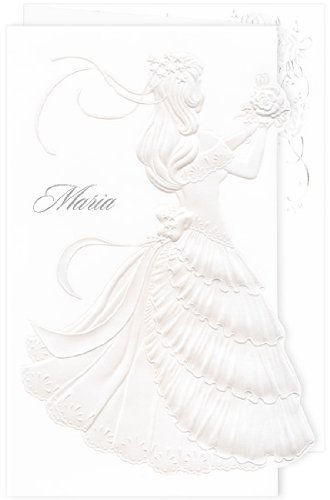 amazon com blank quinceanera invitations a courtyard bouquet