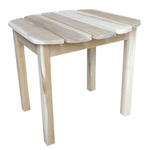 International Concepts Outdoor Side Table, Unfinished
