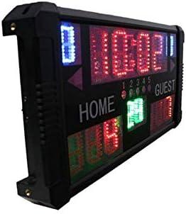 Compra WTY Marcador de Baloncesto Marcador electrónico portátil ...