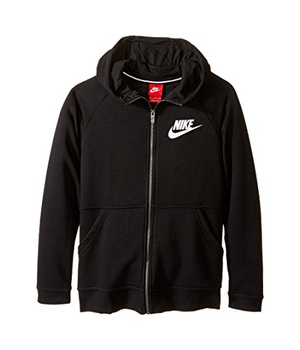 Nike Girls NSW Morden Hoodie #806212-010 (S, Black)