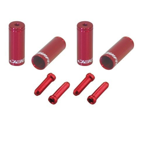 Jagwire End Cap Hop-Up Kit, Red by Jagwire