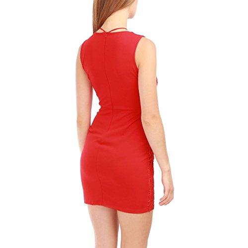 La Modeuse - Vestido - para mujer Rojo