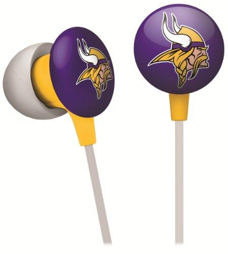 iHip NFF10200MIV NFL Minnesota Vikings Mini Ear Buds, ()