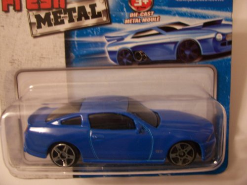 Maisto Fresh Metal Die-Cast Vehicles ~ 2010 Ford Mustang GT - Mustang Blue