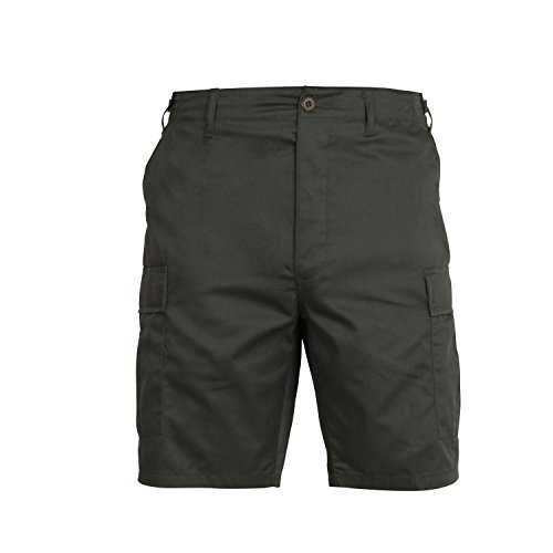 Olive Drab Military Combat BDU Shorts, X-Large