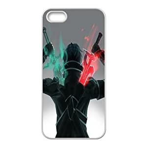 Green and red sword warrior Cell Phone Case for iPhone 5S by Maris's Diary