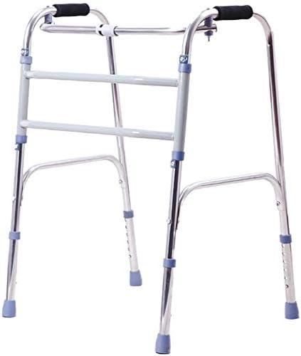 FEE-ZC Marco de Aluminio Ligero Ligero para Caminar Walker Plegable de Uso General para Personas Mayores, Adultos, niños, con un tamaño de hasta 200 Libras