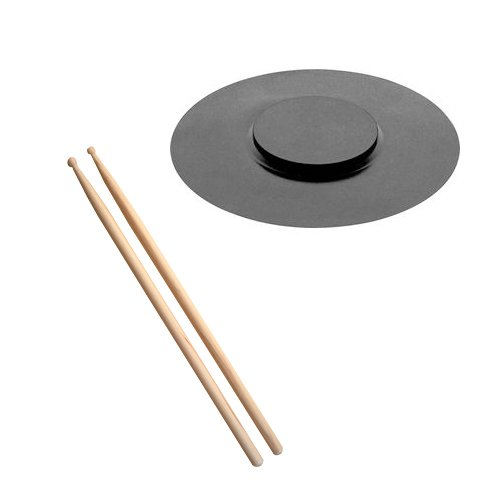 Tabletop Drum Practice Pad with Sticks