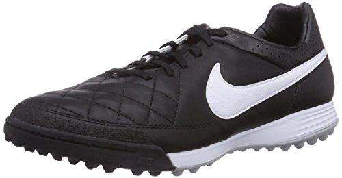 Mens Nike Tiempo Legacy Fotboll Torv Skor (svart / Vitt) Svart Vit Svart 010