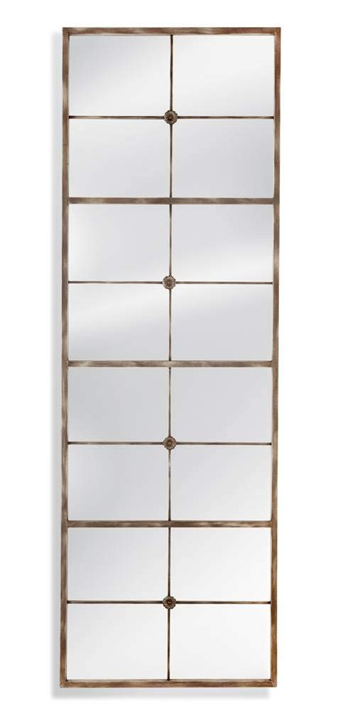 Duvel Leaner Mirror in Distressed Gray -  - mirrors-bedroom-decor, bedroom-decor, bedroom - 41g7t0Jv mL -
