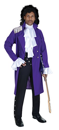 Celebrity Costumes - Purple Pop Star Adult Costume - One Size