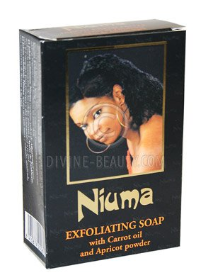 Niuma Exfoliating Soap With Carrot Oil and Apricot Powder 200g by NIUMA