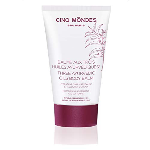 Cinq Mondes 3 Ayurvedic Oils Body Balm Bengalore's Ritual, India, 150 ml