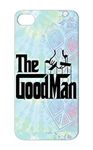 TPU Shockproof Black Dad Godfather Goodfather Man Fathers Day Funny Satire Girl Good Boy Father The GoodMan Protective Case For Iphone 5/5s