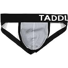 Taddlee Sexy Cotton Jockstrap Underwear Men Briefs Thong Gay Stretch Low-Rise