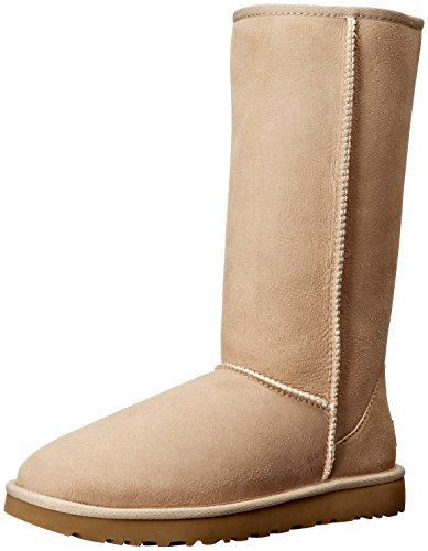 UGG Women's Classic Tall II Winter Boot, Sand, 10 B US