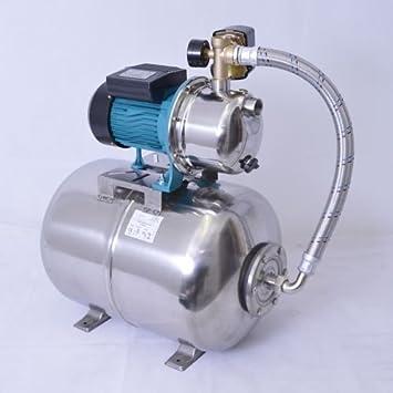 Geliebte Hochwertiges 50 L Edelstahl Hauswasserwerk 1100W - 5 bar Pumpe mit &CS_41