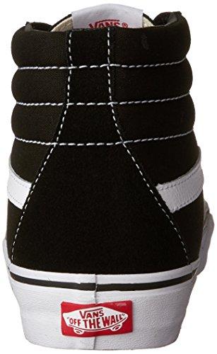 Vans U Sk8-Hi, Zapatillas Altas Unisex Adulto Negro (Black/Black Fog)