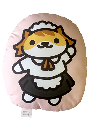 Bandai Neko Atsume Kitty Collector Body Pillow Sassy Fran (Cafe San) Cushion